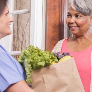 Elder Care Services - Companion Care grocery shopping