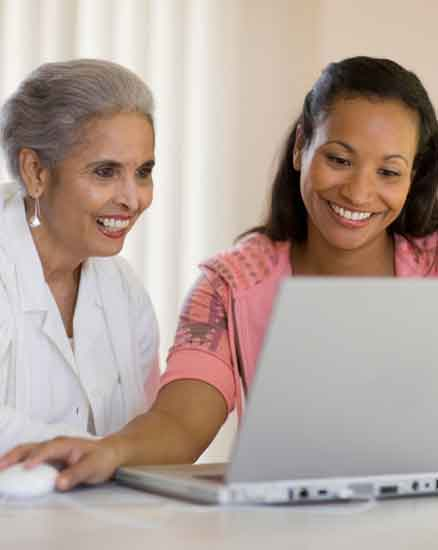 In home care online reporing