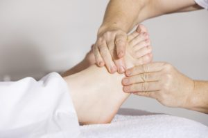 in-home foot care service